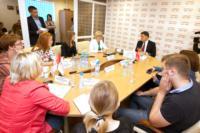 Владимир Груздев пообщался с журналистами «Слободы» и Myslo, Фото: 15