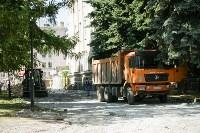В Туле началось благоустройство скверов и дворов, Фото: 17