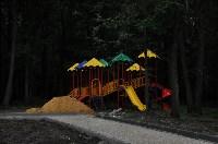 В Щёкино благоустраивают парк «Лесная поляна», Фото: 1