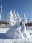 Фестиваль снежной скульптуры в Китае, Фото: 8