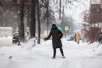 Последствия снежного циклона в Туле, Фото: 40