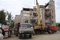 Алексей Дюмин проинспектировал работы по восстановлению дома в Ясногорске, Фото: 3