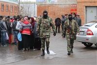В ходе зачистки на Центральном рынке Тулы задержаны 350 человек, Фото: 17