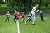 В тульских парках заработала летняя школа футбола для детей, Фото: 5