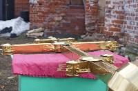 Храм в селе Ефремовского района обрел купол и крест, Фото: 4