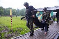 В Туле спецподразделения ОМОН и СОБР провели учения, Фото: 30