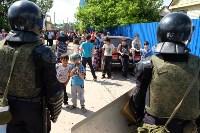 В Плеханово начали сносить дома в цыганском таборе, Фото: 129