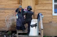 В Плеханово начали сносить дома в цыганском таборе, Фото: 134
