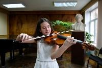 Юная скрипачка Екатерина Щадилова, Фото: 2