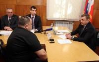 Алексей Дюмин провел личный прием граждан в Тепло-Огаревском районе, Фото: 8