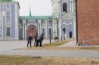 Субботник в Тульском кремле. 9 апреля 2016 года, Фото: 20