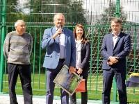 Открытие нового футбольного поля, Фото: 19