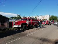 Пожар на ул. М. Горького в Туле, Фото: 5