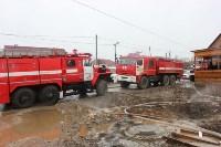 Пожар в цыганском поселении в Плеханово, Фото: 8