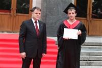 Владимир Груздев поздравил выпускников магистратуры ТулГУ, Фото: 50