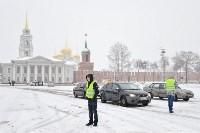 Автофлешмоб на площади Ленина в честь Дня памяти жертв ДТП, Фото: 2