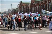 Тульская Федерация профсоюзов провела митинг и первомайское шествие. 1.05.2014, Фото: 21