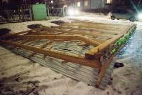 В Туле порывом ветра сорвало крышу веранды в детском саду, Фото: 3