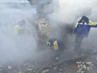 На трубопроводе Новомосковской ГРЭС произошла поломка, Фото: 2