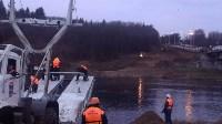 Монтаж моста в Архангельской области, Фото: 21