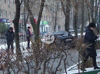 В Туле водитель Volvo снес остановку и протаранил дерево , Фото: 7