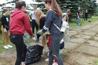 «Экопатруль» в Одоеве навел порядок у памятника конникам генерала Белова, Фото: 5