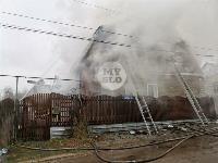 Пожар в Михалково, Фото: 34