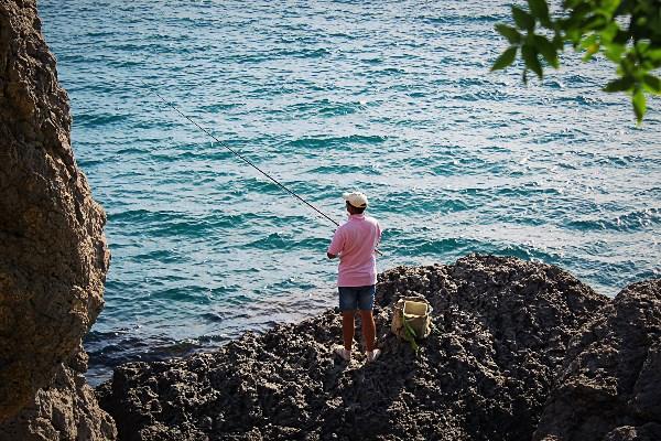 Гламурный рыбак