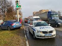 На Щекинском шоссе в Туле произошло тройное ДТП, Фото: 6