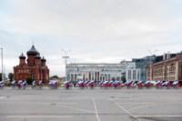 Велопробег в цветах российского флага, Фото: 6