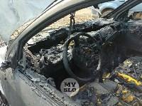 Ночной пожар в Петелино: огонь повредил три автомобиля, Фото: 12