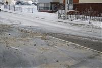 Прорыв водопровода на ул. Арсенальной. 22 января 2014, Фото: 11
