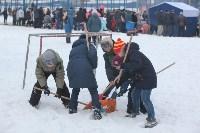 Как туляки провожали зиму на набережной Упы, Фото: 6
