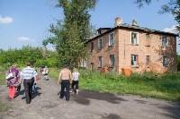 В Шахтинском поселке люди вынуждены жить в рушащихся домах, Фото: 21