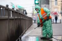В Туле продолжается масштабная дезинфекция улиц, Фото: 17