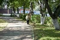 Субботник в Пролетарском округе Тулы, Фото: 28
