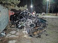 На выезде из Тулы BMW влетел в фуру: один человек погиб, Фото: 18
