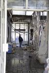 """На ул.9 Мая сгорел рынок """"Салют"""", Фото: 34"""