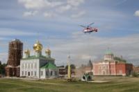 Установка шпиля на колокольню Тульского кремля, Фото: 11