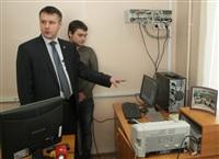 Денис Бычков проверил один их тульских пунктов сдачи ЕГЭ , Фото: 3