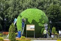 Арт-объект «Зеленая планета», Фото: 12