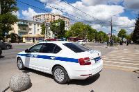 Полицейский рейд в тульских маршрутках: на пассажиров без масок составляют протоколы, Фото: 13