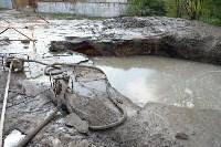 Провал грунта на Замочной и Осташева, Фото: 5