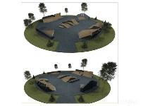 Проект скейтпарка в Центральном парке, Фото: 3