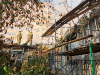 На ул. Баженова в Туле крупный пожар уничтожил жилой дом, Фото: 9