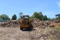 В Тульской области незаконно сжигали московский мусор, Фото: 33
