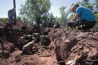 Останки бойцов в деревне Криволучье, Фото: 10