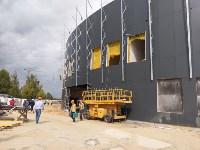 строительство ледовой арены в Туле, Фото: 2