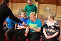 В Туле прошло необычное занятие по баскетболу для детей-аутистов, Фото: 48