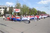 Тульская Федерация профсоюзов провела митинг и первомайское шествие. 1.05.2014, Фото: 79
